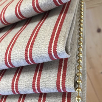 Roman blinds made to measure in East Kent